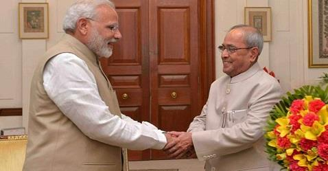 Pranab Mukherjee praises Modi Govt: Highlights of his Budget speech