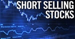 Five stocks with selling interest