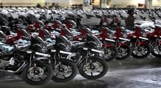 Bajaj Auto maintains market share in domestic market