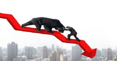 Nifty settles below 9600-mark as markets trade in the red through the day